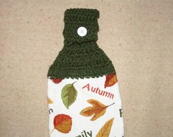 520 crochet towel hanger