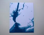 Brooklyn - original 8 x 10 papercut art