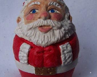 Holly Hat Santa