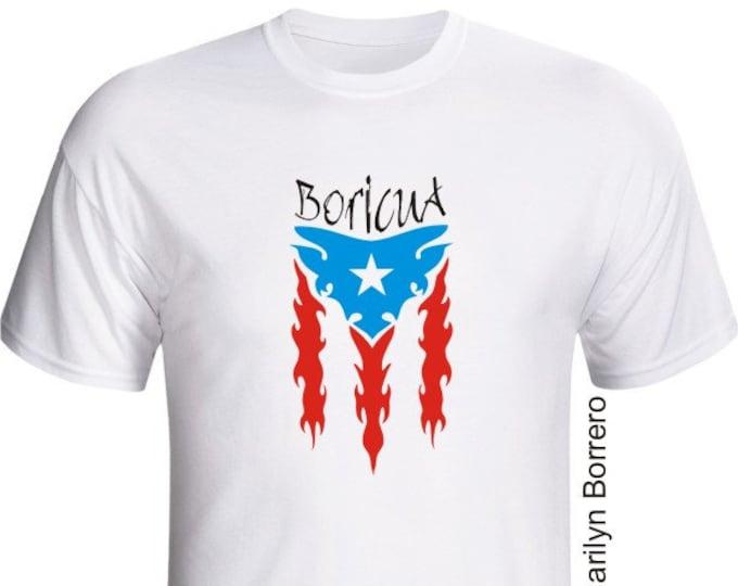 Tribal Boricua T-shirt