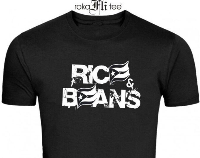 Rice&Beans Black Flag Tee
