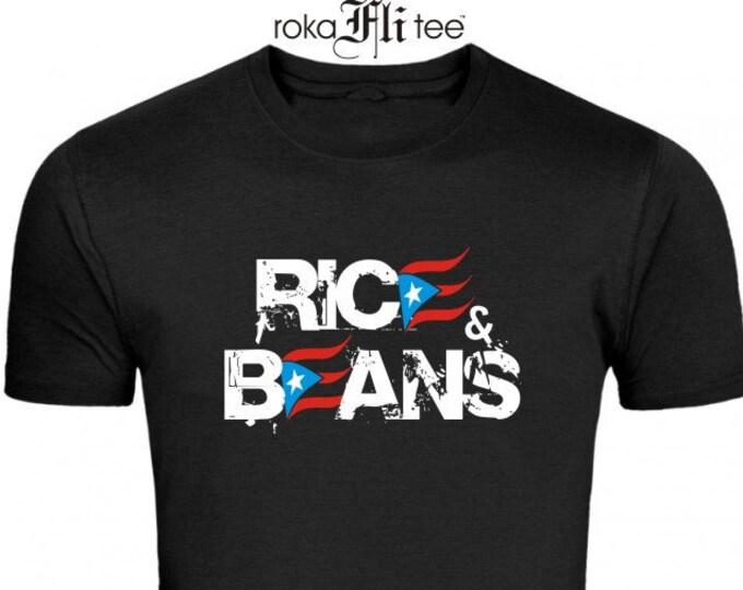 Rice&Beans Black Tee
