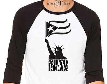 Nuyo Rican Raglan Tshirt