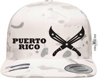 PR Machetes White Camo