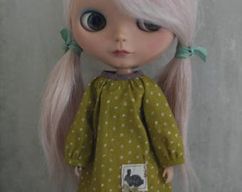 Snapdragon Dress for Blythe Doll