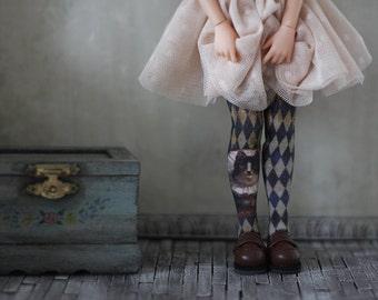 Harlechat Doll Socks for Blythe, Pullip, Monster High, Azone Pure Neemo, Barbie, Rainbow High