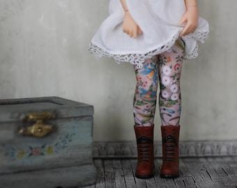 Jardin Doll Socks for Blythe, Pullip, Monster High, Azone Pure Neemo, Barbie, Rainbow High