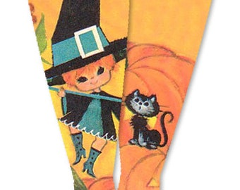 A Little Familiar Halloween Doll Socks for Blythe, Pullip, Monster High, Azone, Barbie, Rainbow High