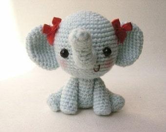 Little Elphie - PDF crochet pattern