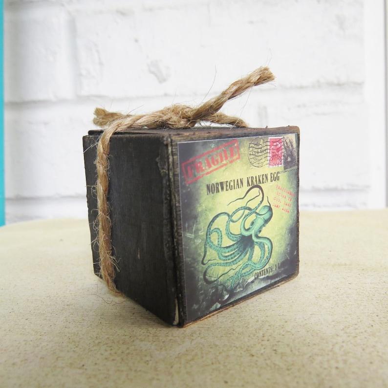 Miniature Phoenix Egg Crate-Dollhouse Egyptian Phoenix Egg shipping crate