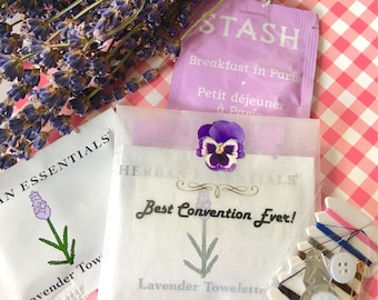 Lavender Gifts, Free Shipping, Best Life Ever Gifts, JW Pioneer Gifts, Bridal Shower Gifts, JW Gifts, JW Ministry, Lavender, Tea Gift Purple