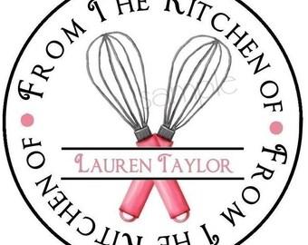 kitchen labels etsy