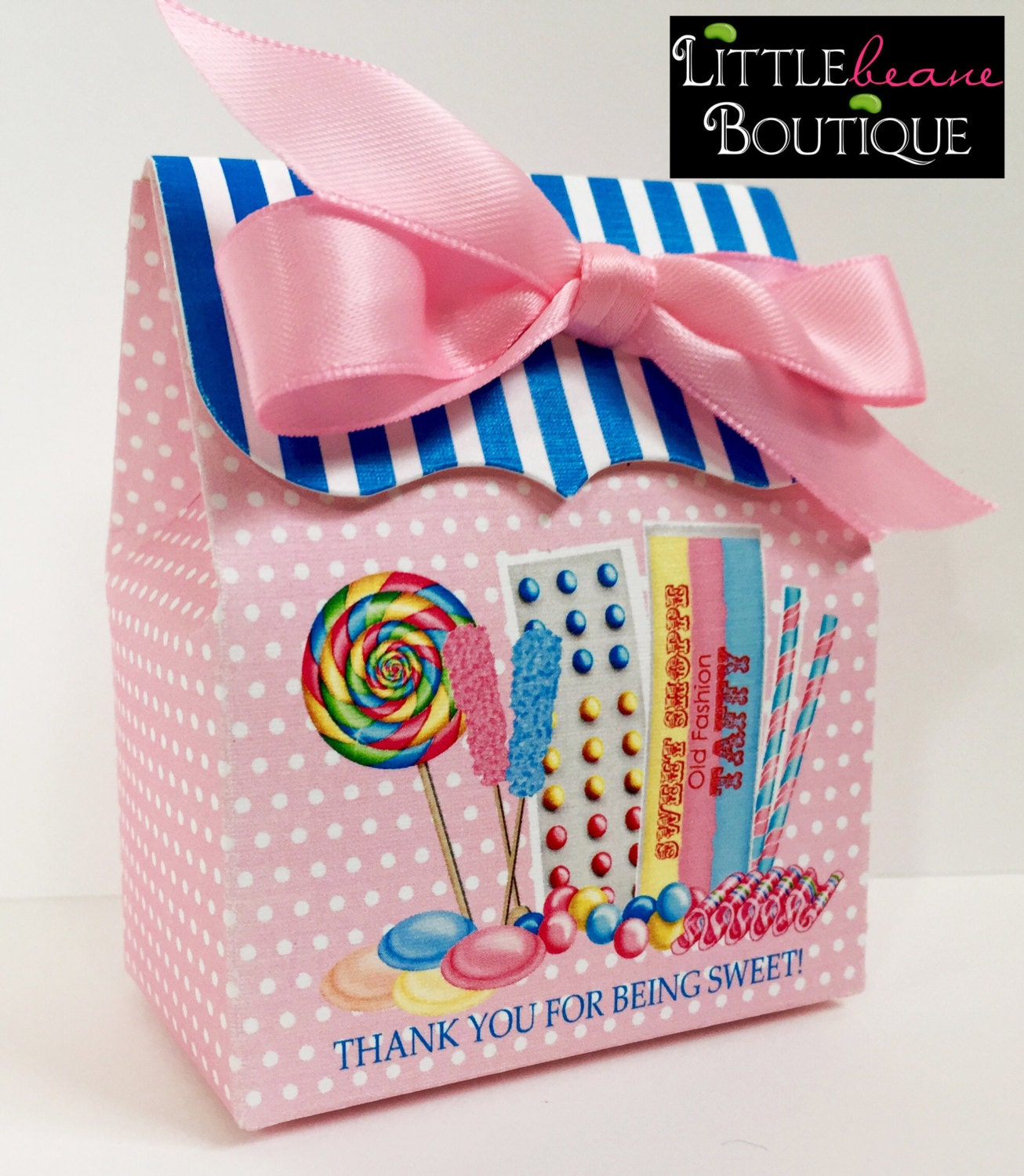 Personalized Favor boxes Candy Boxes Custom Candy Box Old
