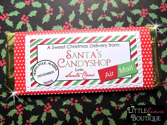 graphic about Free Printable Christmas Candy Bar Wrappers referred to as Printable Xmas Sweet Bar Wrappers, Do-it-yourself, Vacation wrappers, Wrappers, Small children, Young children, Like