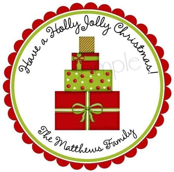 christmas gift stickers christmas presents holiday christmas