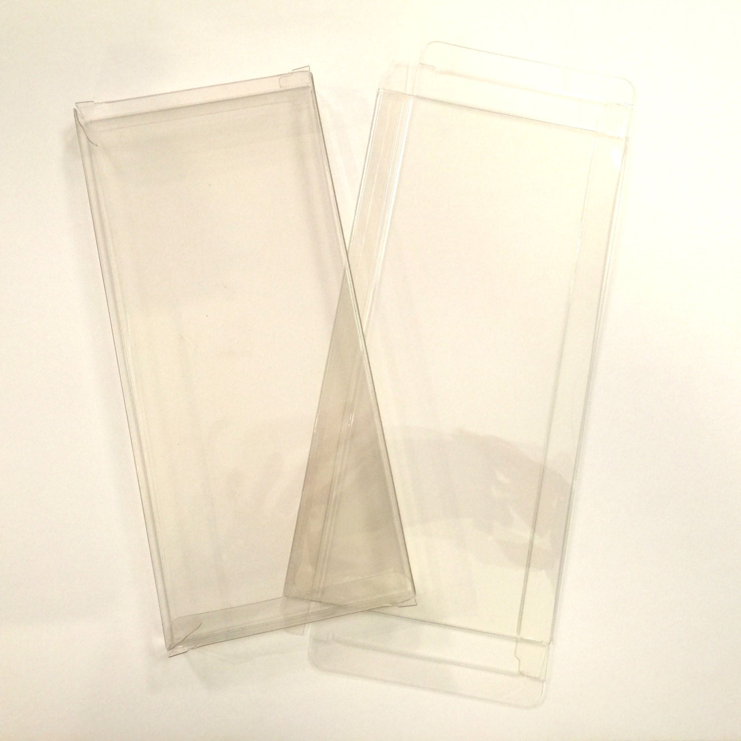 50 Clear Boxes 10 Soft Packaging For Greeting Cards Fits 10 Etsy