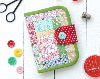 PDF Quilted Needle Book Sewing Kit Pattern