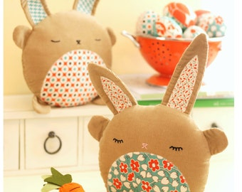 PDF Sewing Pattern Betsy & Basil Bunny Softies Instant Download