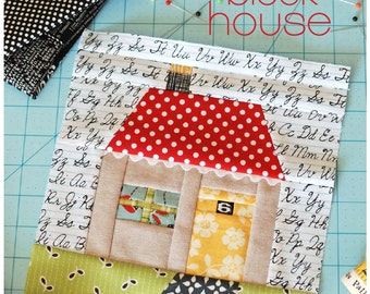 Quilt Block House Patchwork PDF Sewing Pattern