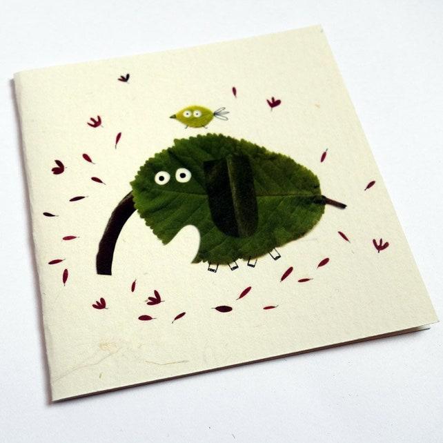 Card, Elephant sheet C102