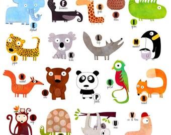Placard animals Z021 primer