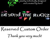 RESERVED Custom Precious Topaz Ring