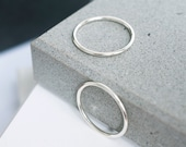 Silver ring, minimalist ring, stacking ring, modern ring, rings for women, gift for her