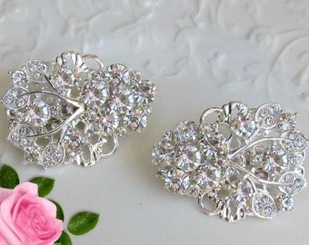 Small Bridal Comb, Bridesmaid Hair clip, Wedding Hair, small barrette, crystal clip, Bridal Hair Clip, Bridesmaids Gift, Wedding Comb Bridal