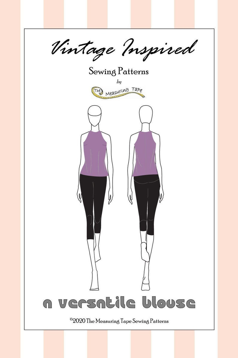 A Versatile Blouse  Sleeveless Cut-in Tank Blouse with Back image 0