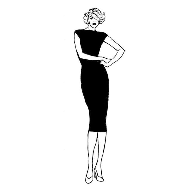 All Sizes Included  PDF Sewing Pattern for Women  image 0