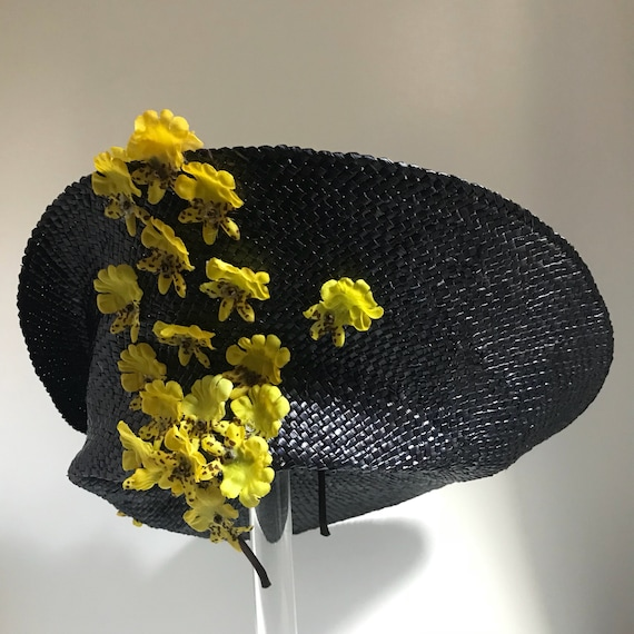 79c865f1171 Derby racing hat Fascinator Wide Brim Hat