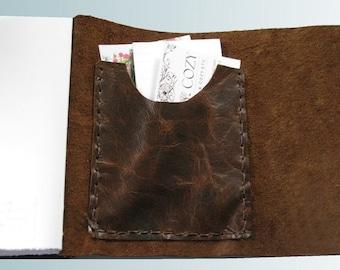 POCKET customization -- Add Pocket to inside back cover of journal