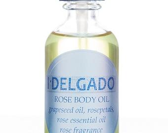 I Delgado Rose Body Oil