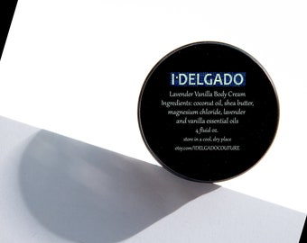 I Delgado Lavender Vanilla Body Cream
