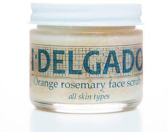I Delgado Orange Rosemary Face Scrub