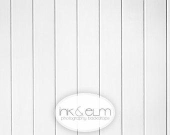 "Photo Backdrop 2ft x 2ft NEW, Vinyl Photography Backdrop White Wood, White wood photo background, Photo prop floor drop, ""Crisp and Clean"""