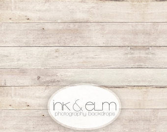 """Vinyl Backdrop 4ft x 3ft, Vinyl Wood Photography Backdrop / Floordrop, Clean light wood backdrop, photo booth background prop, """"Smooth Grit"""""""