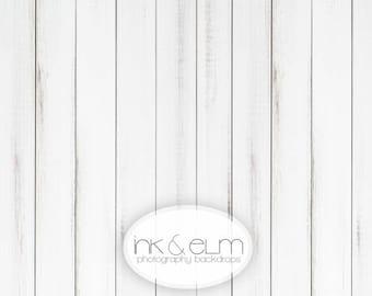 "Photography Backdrop 3ft x 2ft White Wood Backdrop, White wood planks photography backdrop, Photo backdrop prop, ""Alaska Whites (thin plank)"