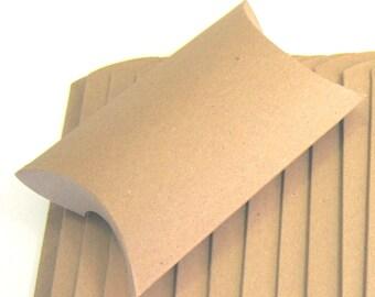 20 Kraft Pillow Boxes
