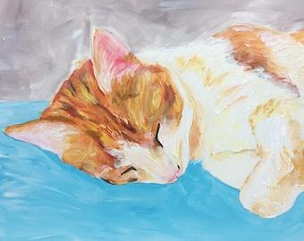 16x20 inch Custom Pet Painting