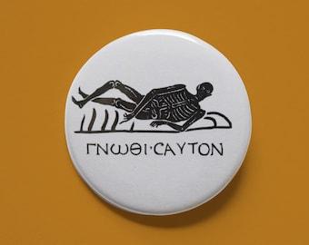 "Memento Mori | 1.5"" Pinback Button"