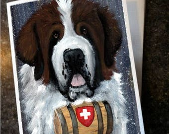 80327734c22a Saint Bernard dog