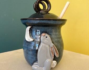 Bunny Moon Honey Pot