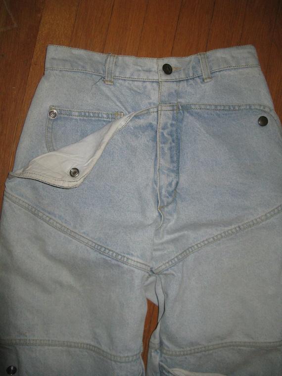 1981 Guess Ana Snap-pocket multi-pocket high waist