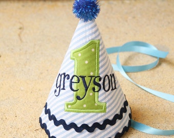 Boys First Birthday Party Hat