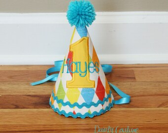First Birthday Hat Boys