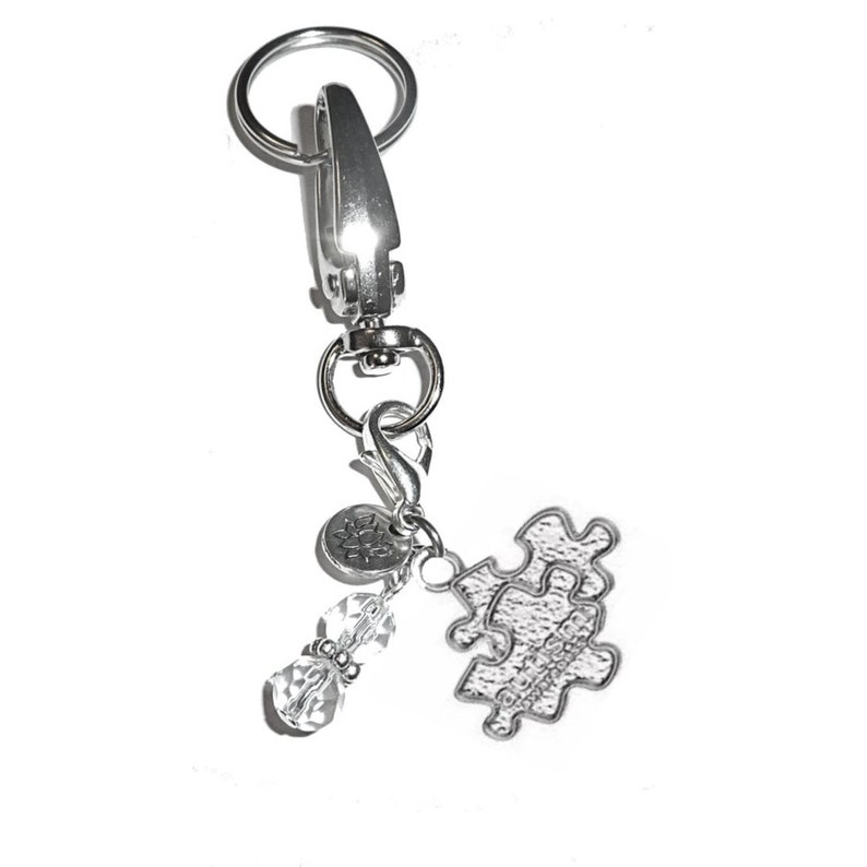 Autisms Hidden Gifts >> Autism Awareness Keychain By Hidden Hollow Message Charm Key Chain Ring Women S Purse Or Necklace Charm Comes In A Gift Box