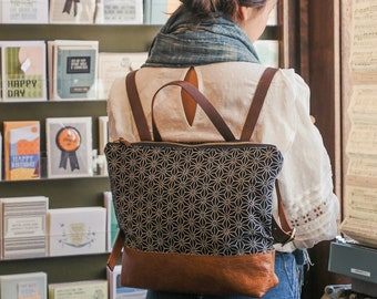 Laptop Backpack Stylish Laptop Bag Boho Backpack Backpack Diaper Bag Everyday Bag Women/'s Backpack Hipster Backpack Leather Backpack