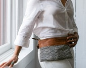 Fanny Pack. Leather Belt Bag. Leather Bum Bag. Leather Hip Bag. Leather Waist Bag. Japanese Bag.  Festival Fanny Pack.