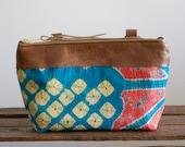 Small Boho Bag, Small Crossbody, Kimono Bag, Leather Pouch, Gift Under 50, Boho Gift for Her,  Boho Organizer, Leather Crossbody